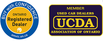 BUY with CONFIDENCE - Ontario Registered Dealer - Member Used Car Dealers Association of Ontario UCDA